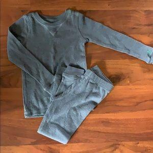Cuddl Duds Toddler Boys Batman Thermal Underwear Long John Base Layer Set 2T-3T